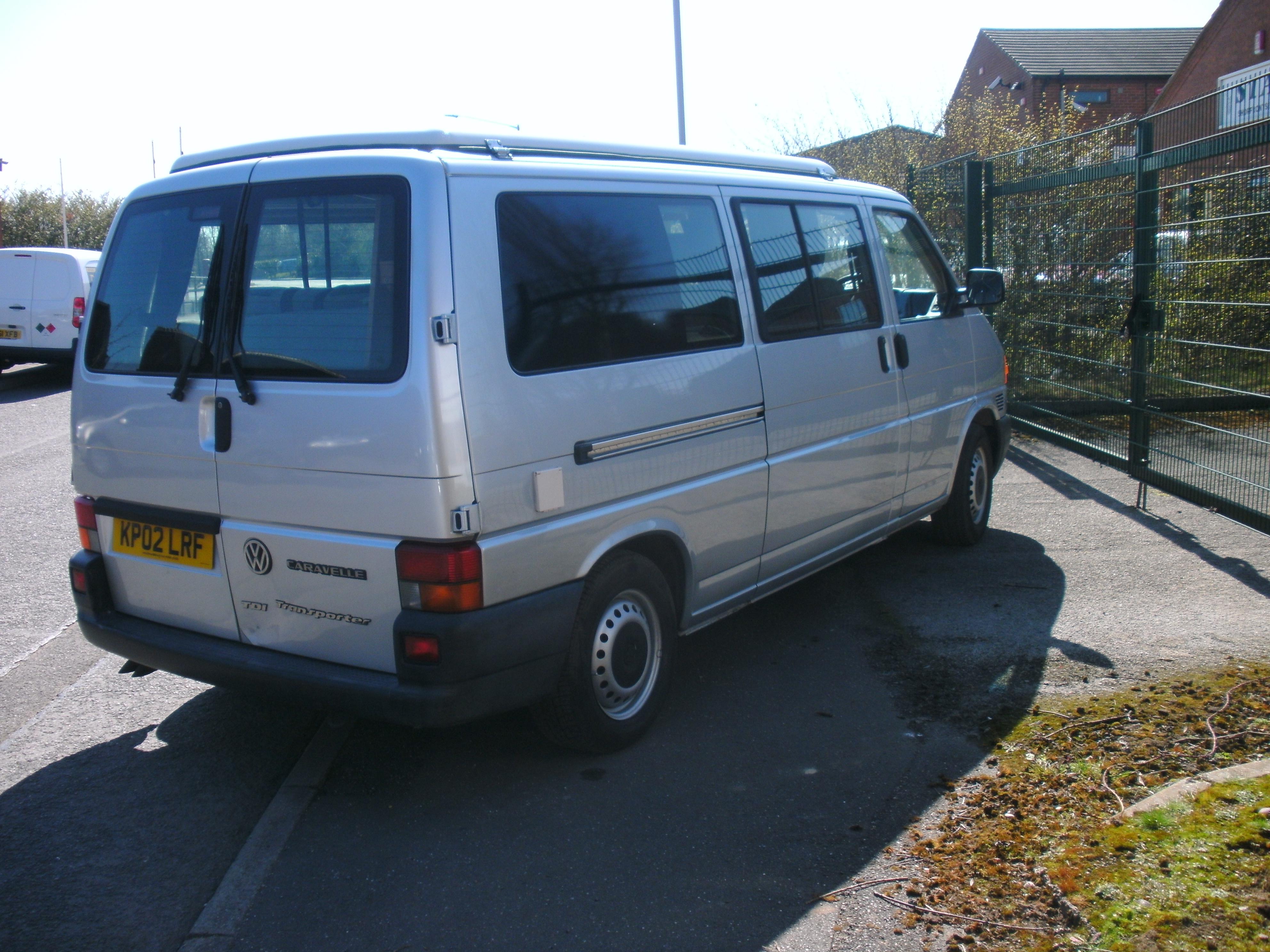 Vw T4 Camper Automatic 2002 Vwbus T4 Amp T5
